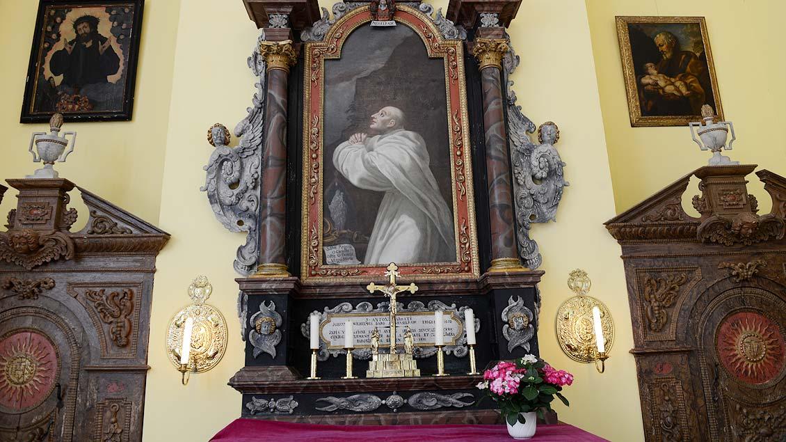 Bild des heiligen Antonius.