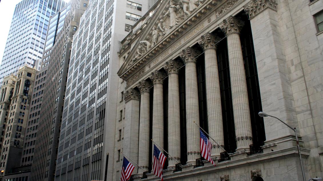 Zentrum der Weltfinanzen: Börse in New York.