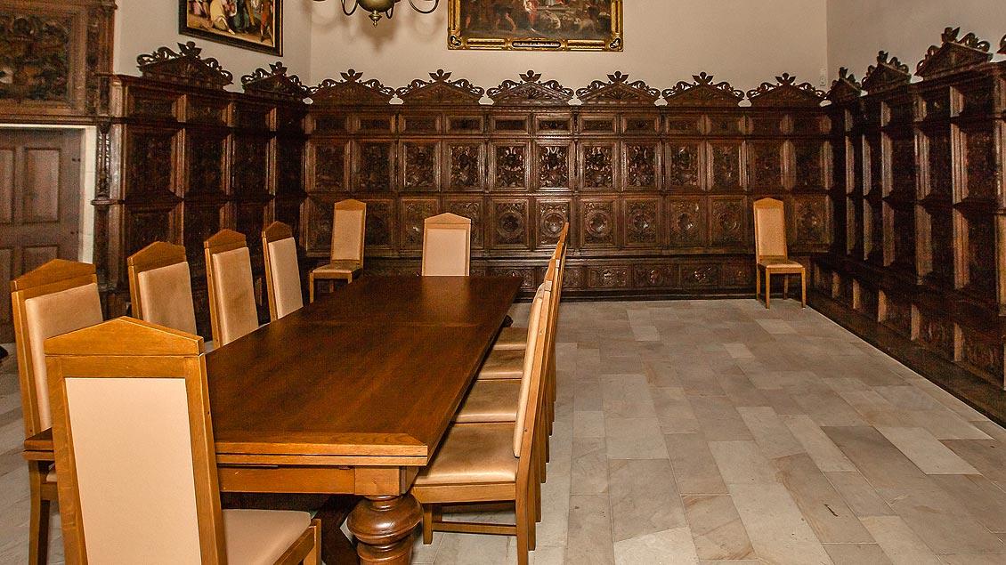Der Kapitelsaal neben dem Paulusdom.
