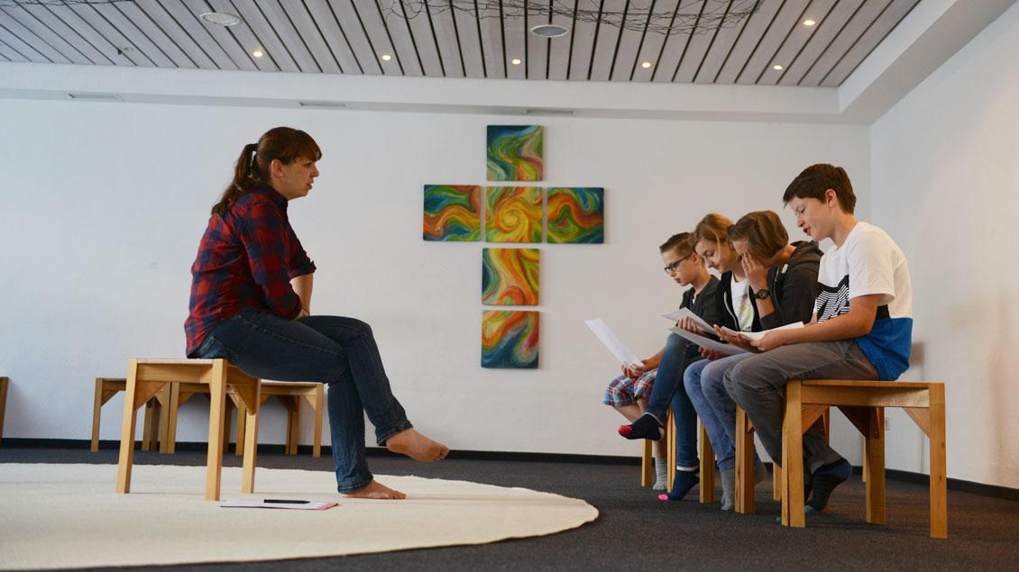 Meditationsraum einer Schule in Sendenhorst.