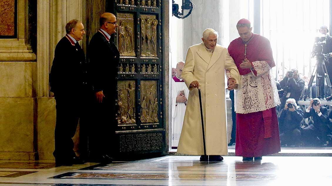 Papst em. Benedikt XVI. Reuters