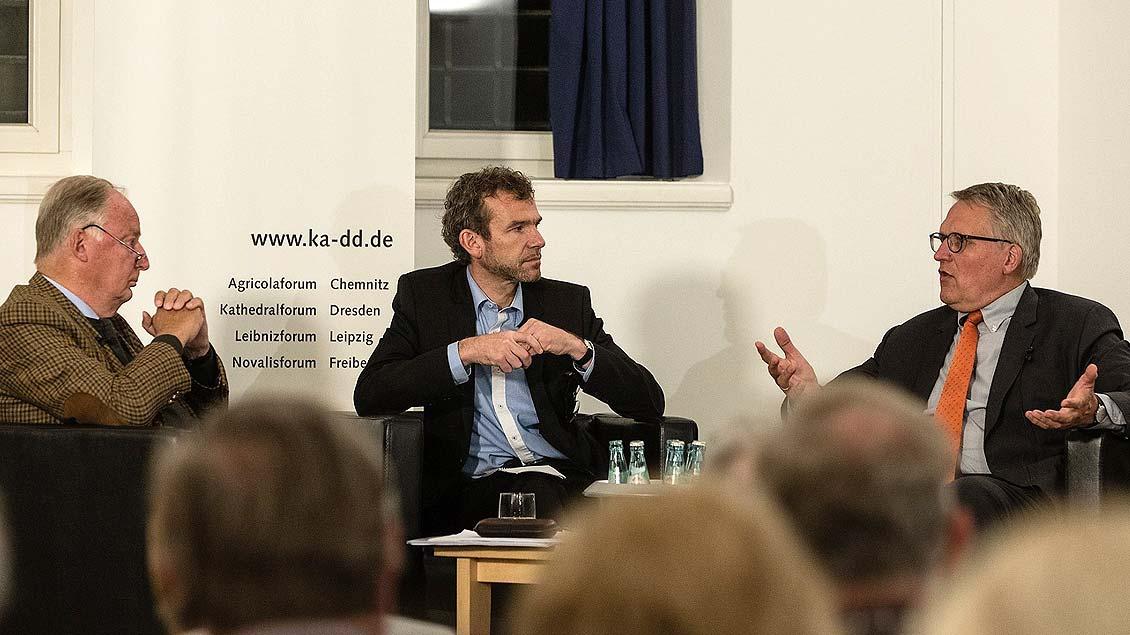 Streitgespräch zwischen Alexander Gauland und Thomas Sternberg