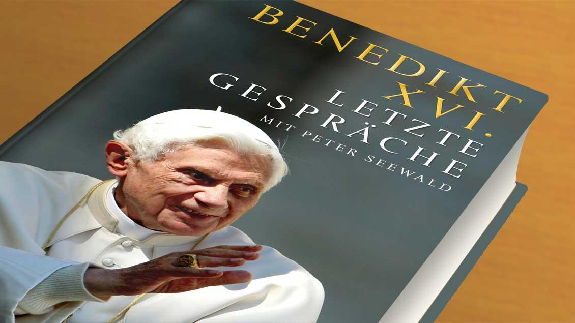 Cover des Buchs von Benedikt XVI.