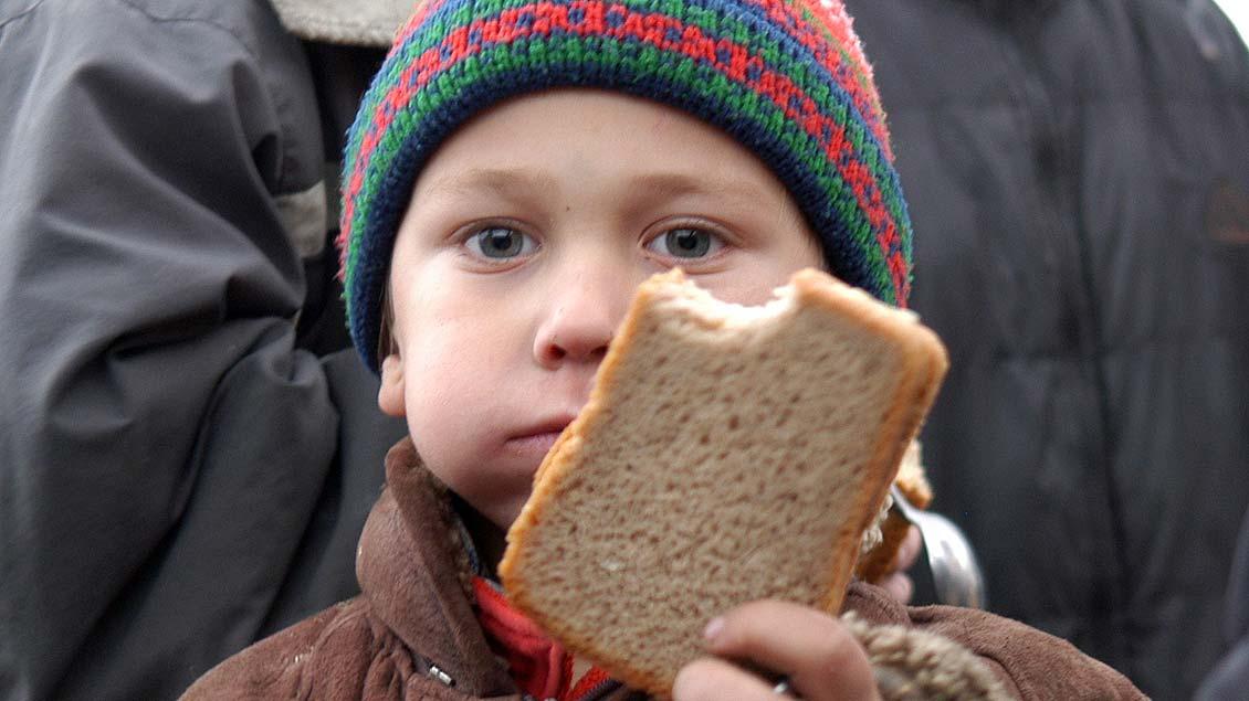 Kinderarmut ist auch in Deutschland verbreitet.