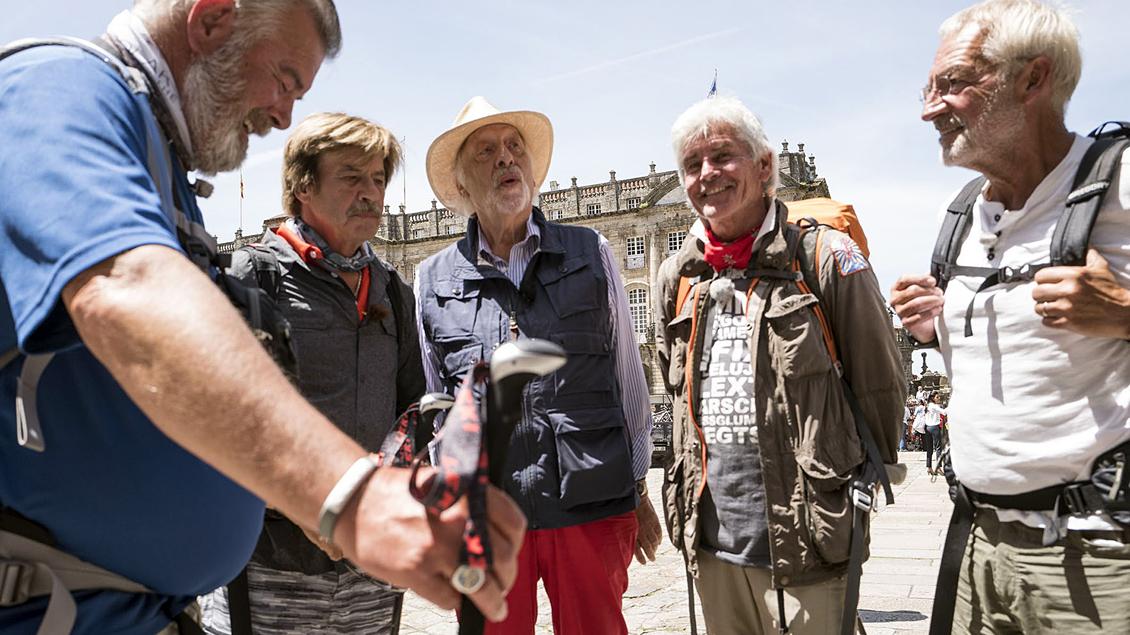 Harry Wijnvoord, Jörg Draeger, Karl Dall, Frederic Meisner und Björn Hergen Schimpf.