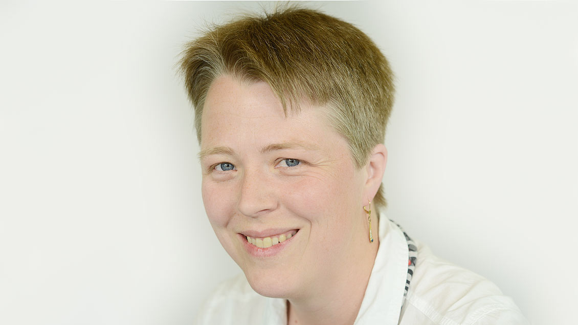 Redaktionsassistentin Petra Helmers