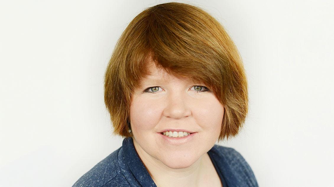 Redakteurin Marie-Theres Himstedt