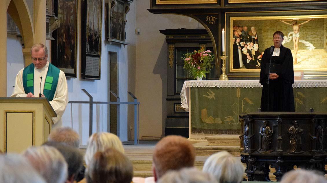 Gottesdienst in der Wittenberger Stadtkirche