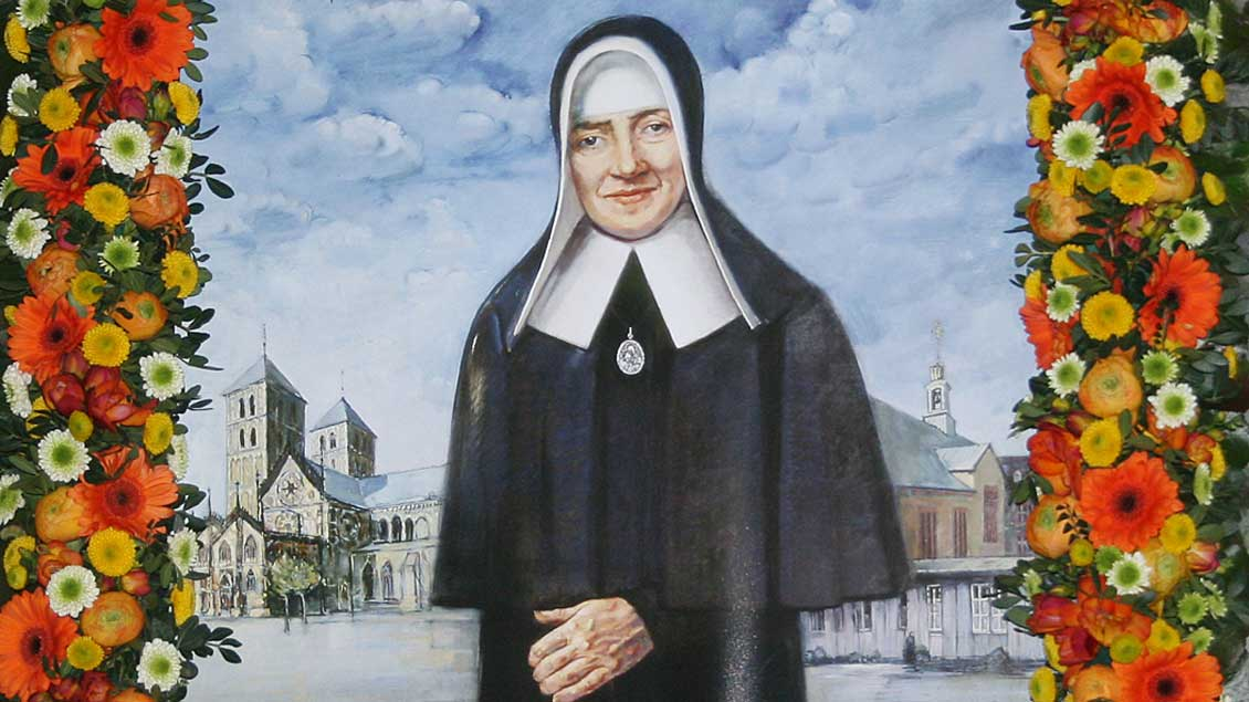 Schwester Maria Euthymia Foto: Johannes Bernard