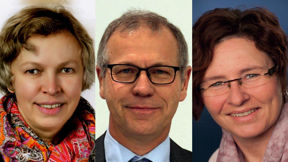 Margret Nowak, Franz-Josef Plesker und Michaela Becks (v.l.).