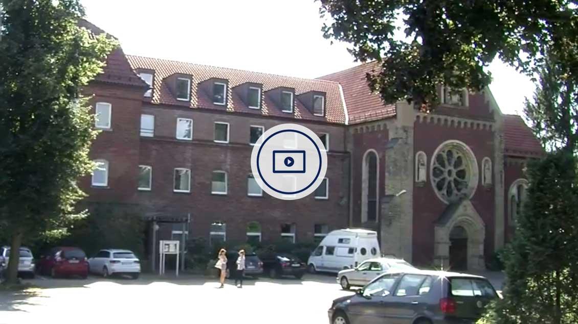 Das Kapuzinerkloster in Münster.