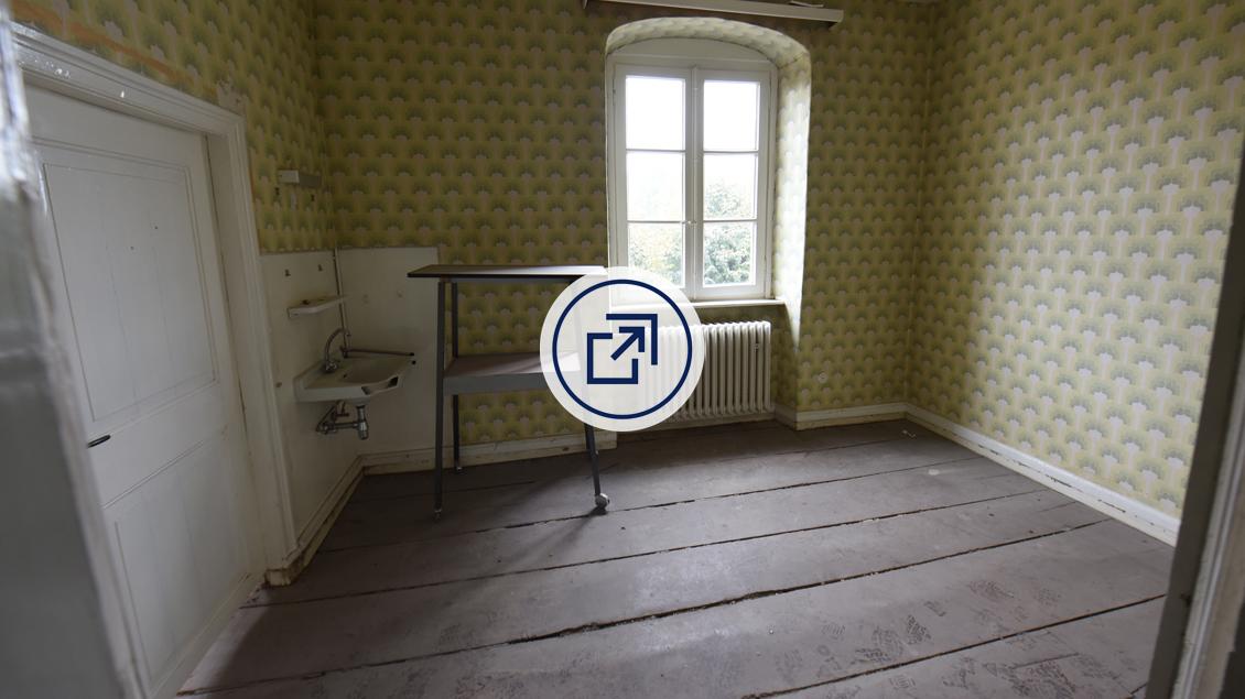 Eine alte Kolsterzelle. - Mit Klick auf das Bild öffnen Sie die Multimedia-Show in einem neuen Fenster.