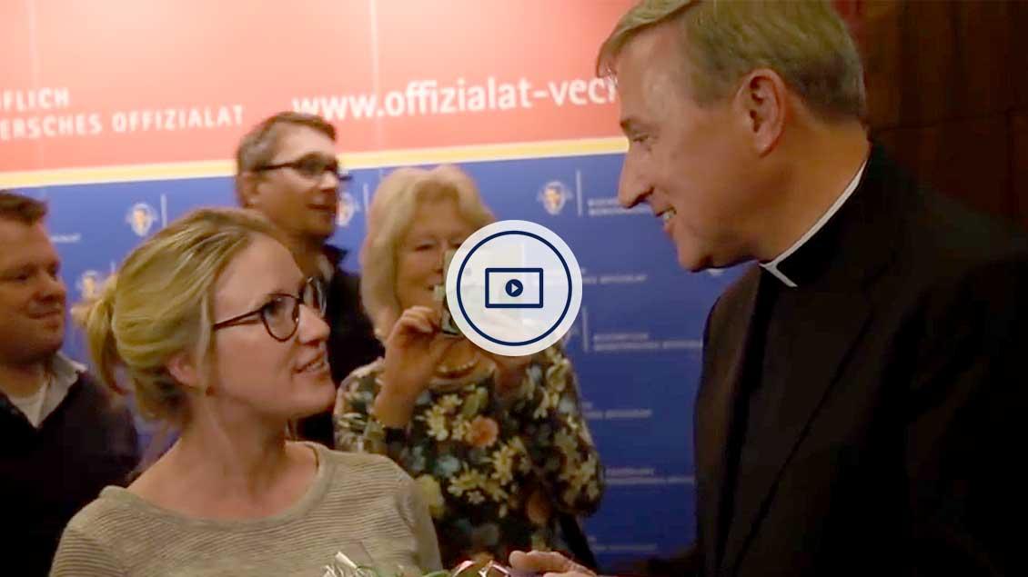 Wilfried Theising wird neuer Offizial in Vechta.