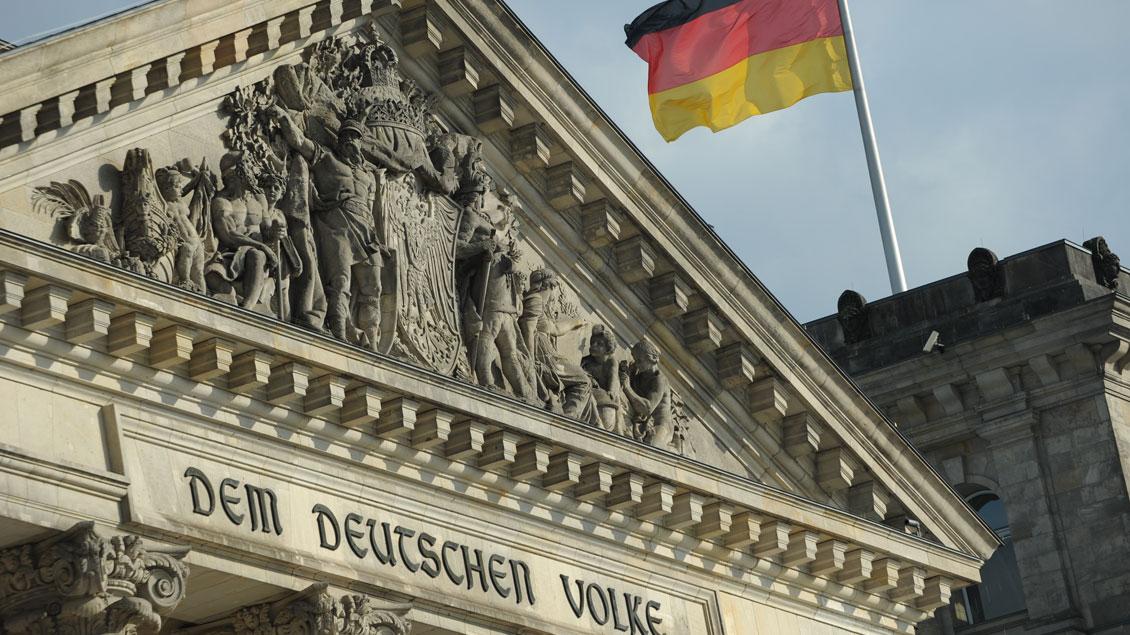 Am 3. Oktober wird der Tag der Deutschen Einheit gefeiert. Foto: Michael Bönte