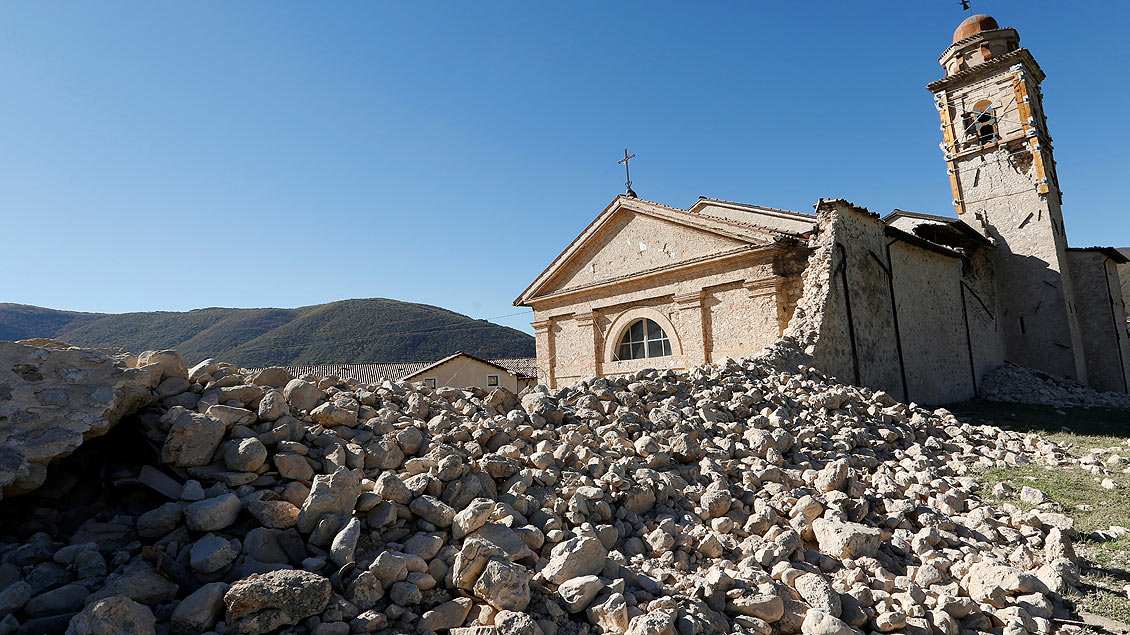 St.-Antonius-Kirche in Norcia Foto: Reuters