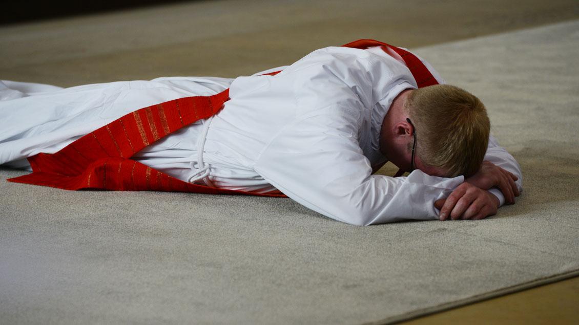 Priesterweihe.