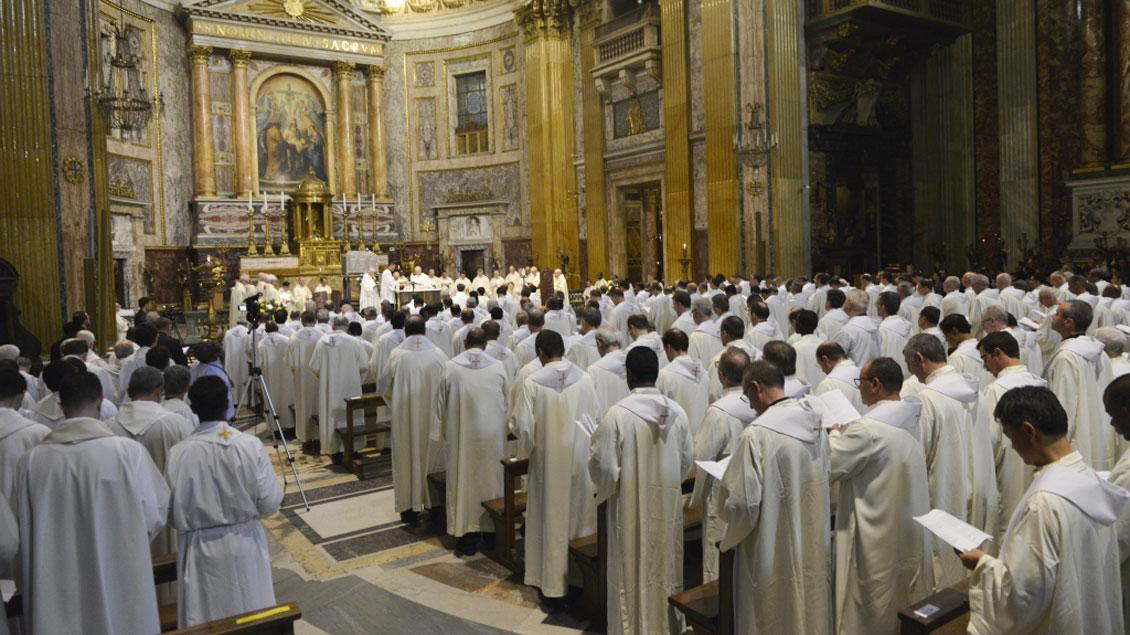 Gottesdienst der Jesuiten.