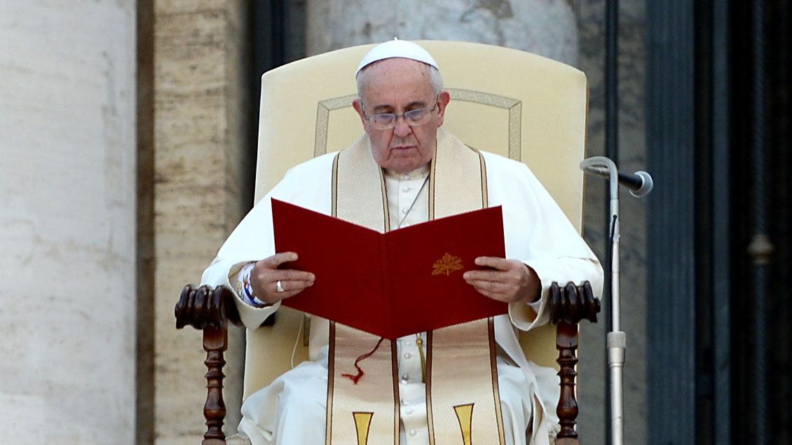 Papst Franziskus. Foto: Michael Bönte