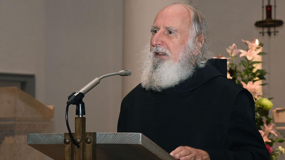 Pater Anselm Grün Foto: Ludger Heuer