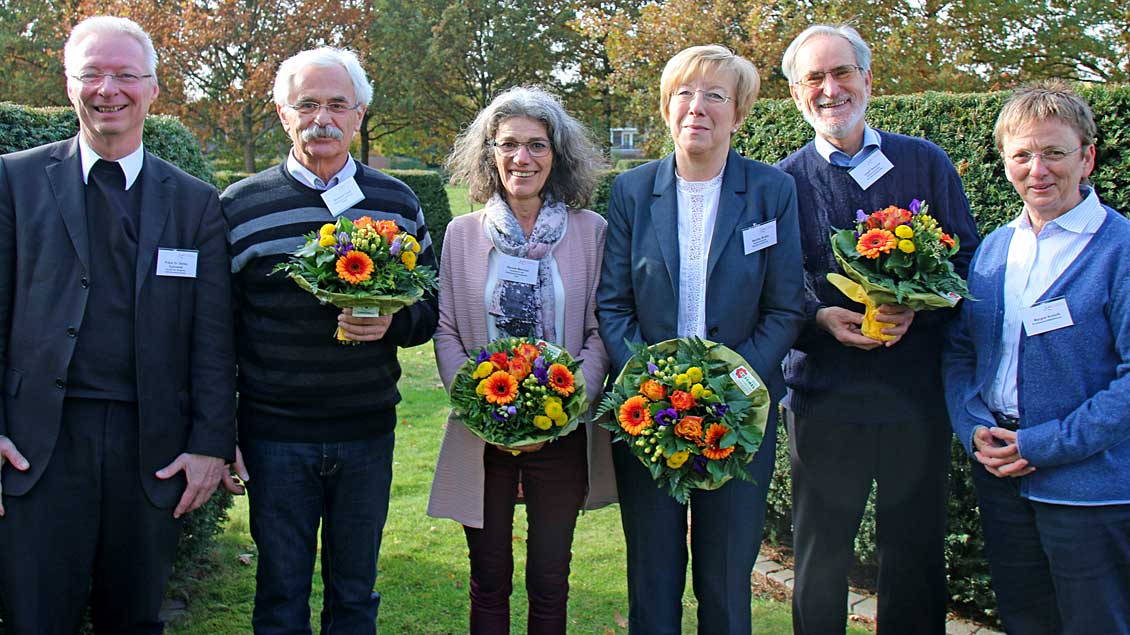 Der neue Vorstand des Bundesverbandes der Caritas-Konferenzen Deutschland.