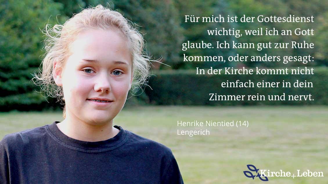 Henrike Nientid.