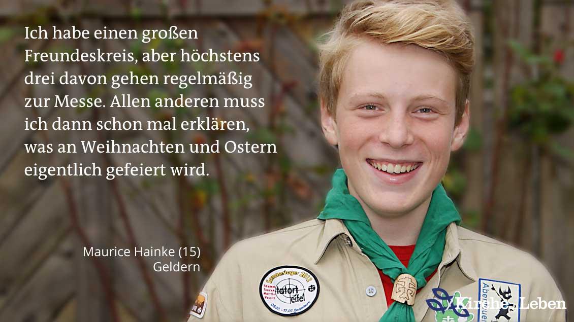 Maurice Hainke.