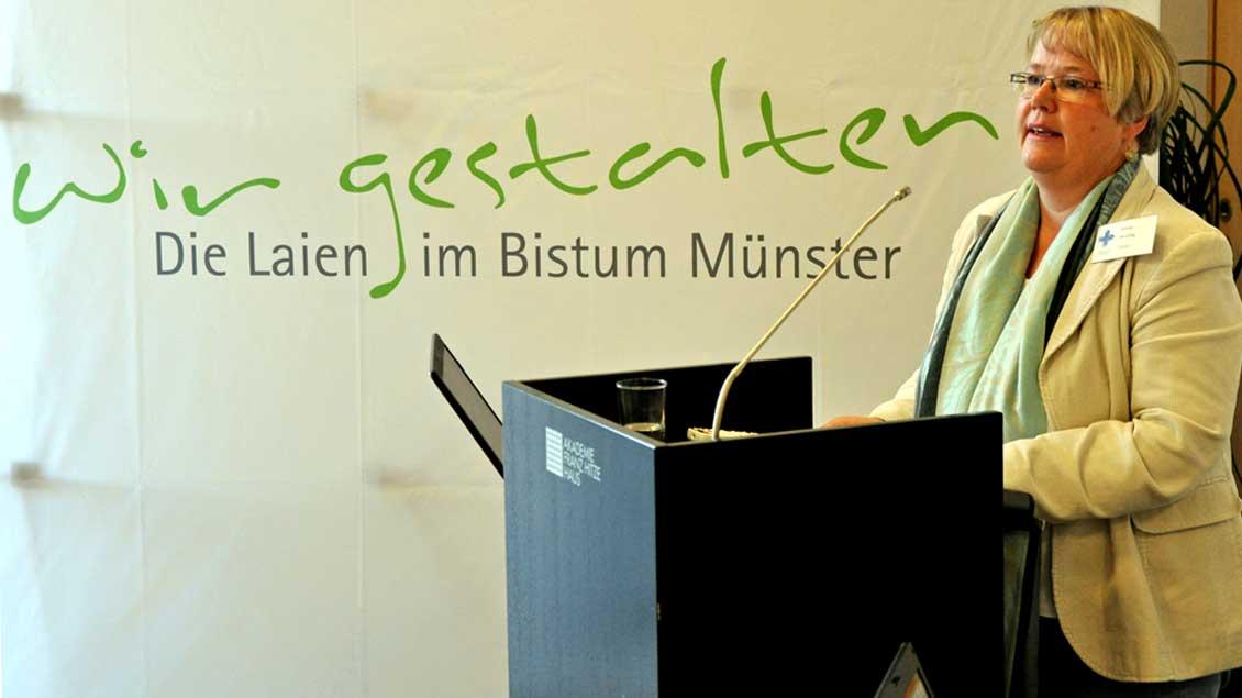 Notburga Heveling, Vorsitzende des Dizöesankomitees der Katholiken im Bistum Münster.