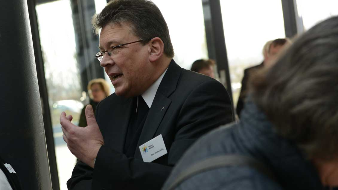 Pater Manfred Kollig, künftiger Generalvikar im Erzbistum Berlin.