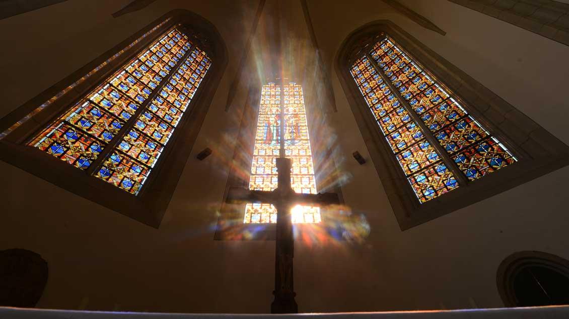 Kreuz in der Marienkapelle des St.-Paulus-Doms in Münster.