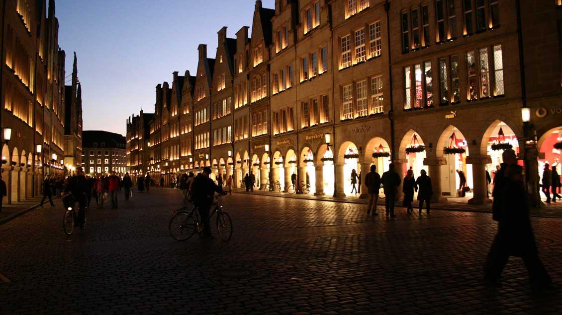Der Prinzipalmarkt in Münster.