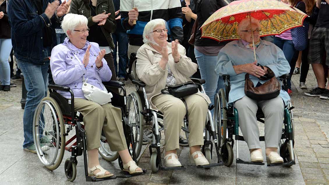 """Mit """"wohlbedachte Reformschritte"""" im Rentensystem möchte das ZdK gegen Altersarmut vorgehen."""