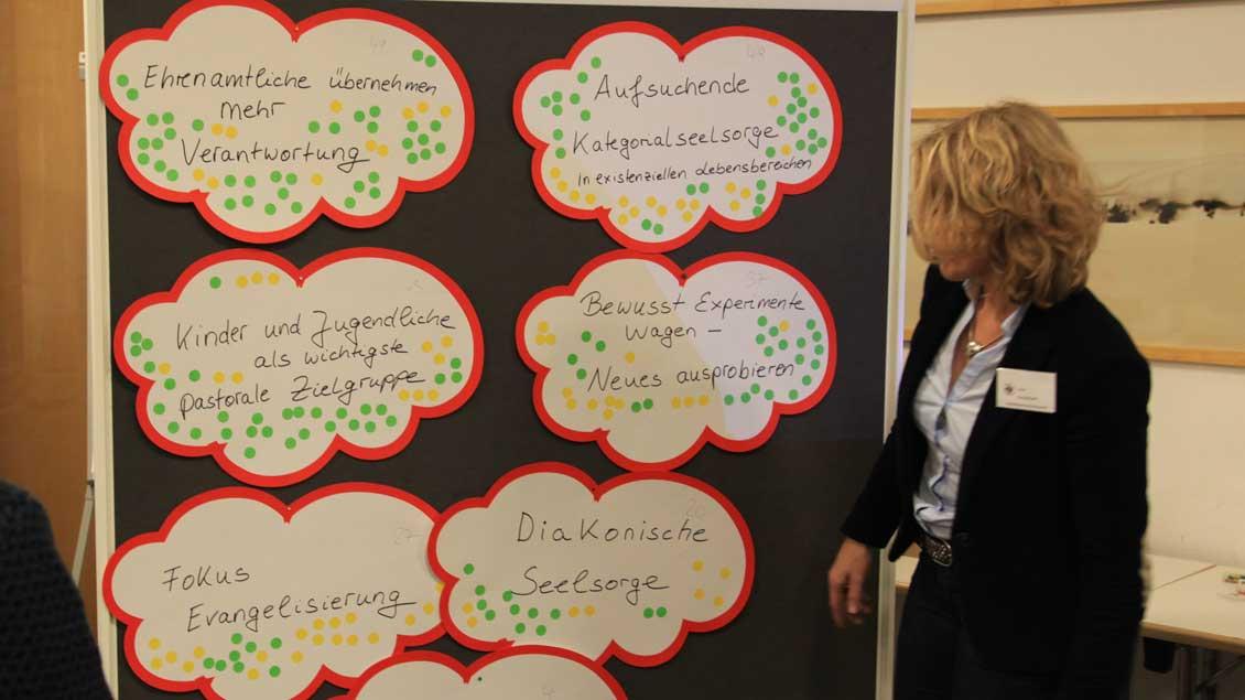 Der Diözesanrat diskutierte über künftige Schwerpunkte. Foto: Christof Haverkamp