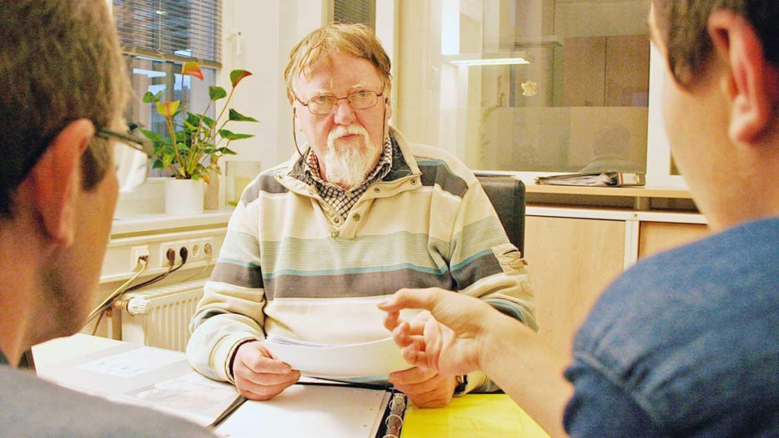 Rechtsberater Johannes Brinkhus.