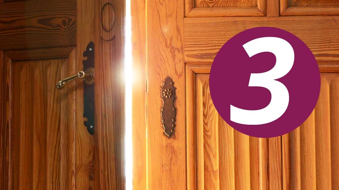 Türen öffnen auf Kirche-und-Leben.de 3. Dezember - Adventskalender 2016