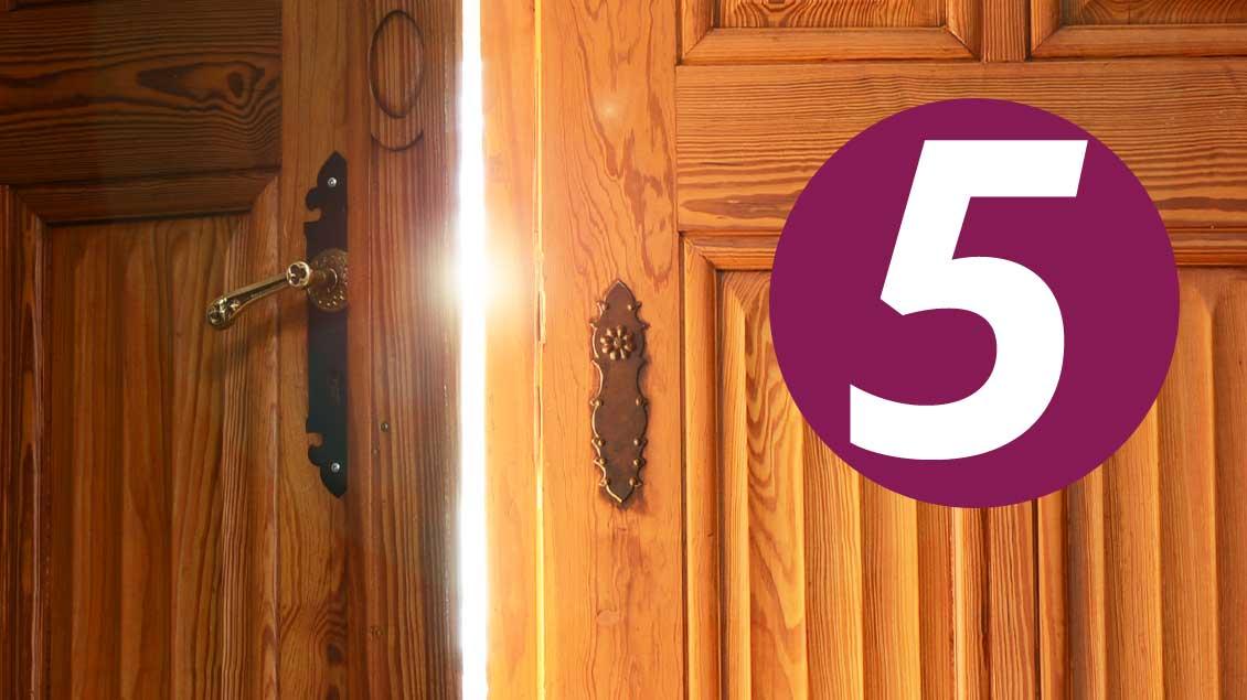 Türen öffnen auf Kirche-und-Leben.de 5. Dezember - Adventskalender 2016