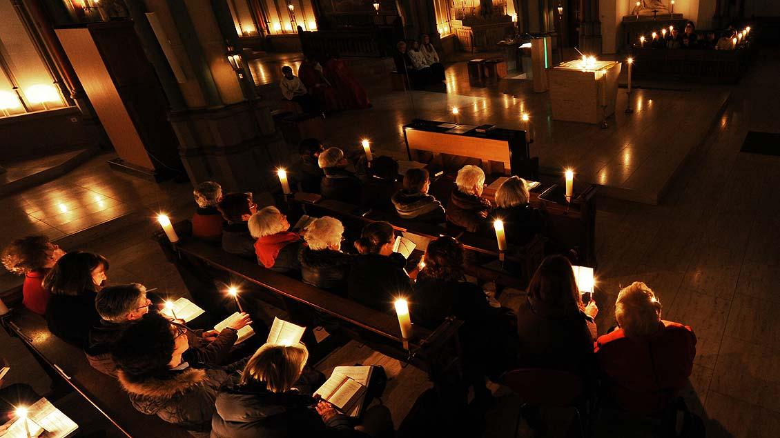 Zu keinem anderen Fest im Jahr sind die Kirchen so voll wie zu Weihnachten.