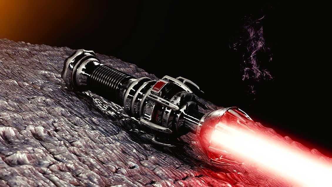 Ist ein Star-Wars-Schwert das richtige Spielzeug?