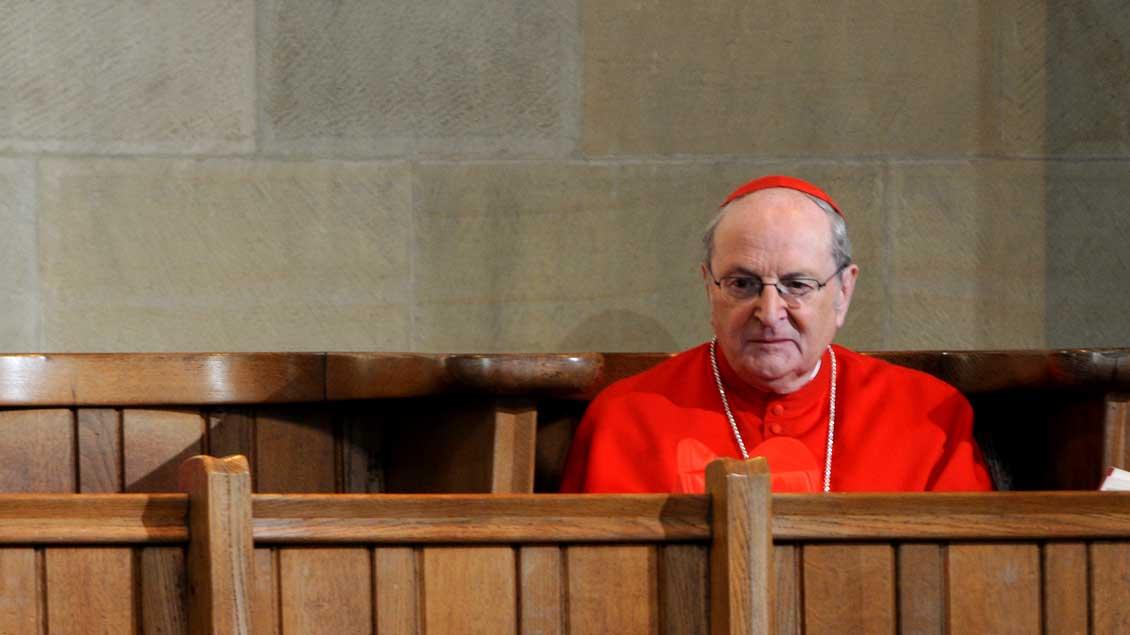 Kardinal Joachim Meisner, emeritierter Erzbischof von Köln.