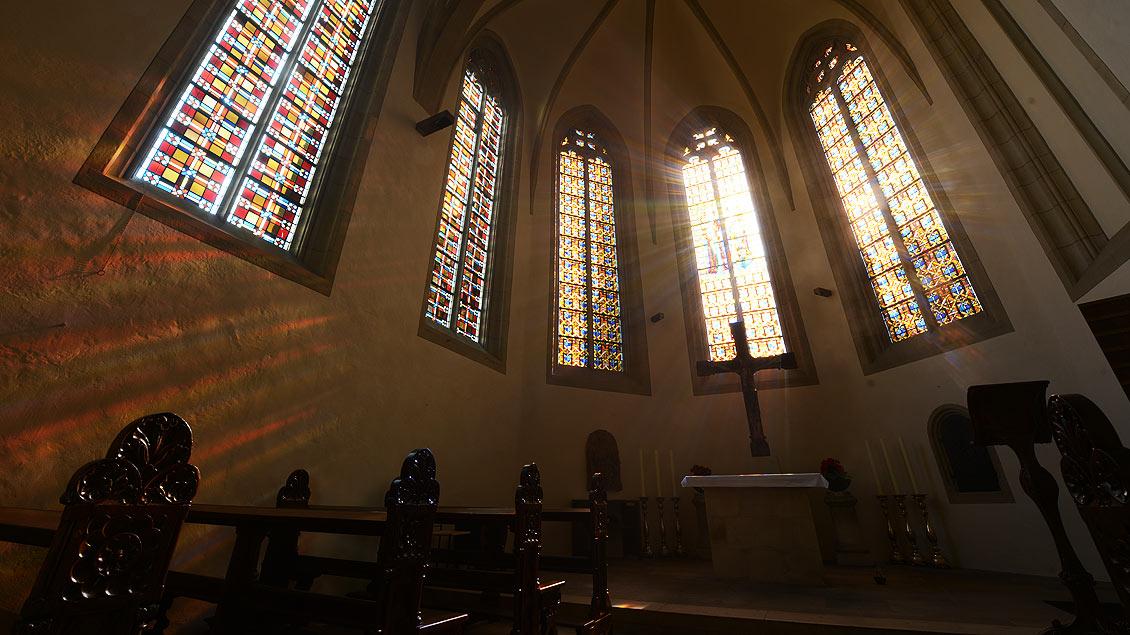 Marienkapelle des Doms im Morgenlicht.