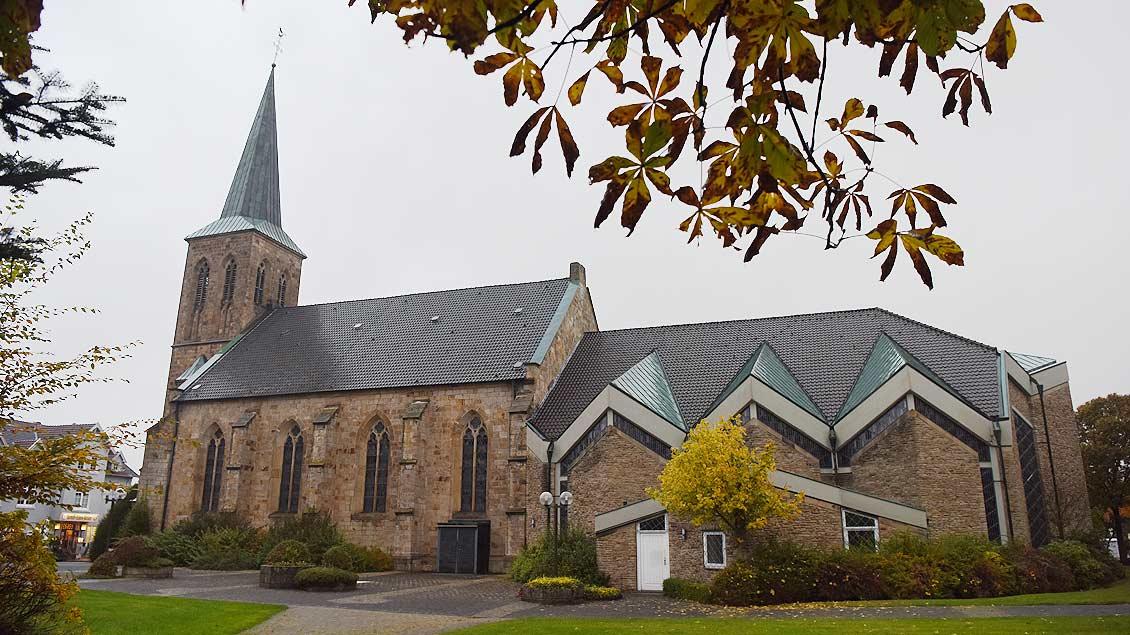 Die St.-Maria-Magdalena-Kirche in Laggenbeck
