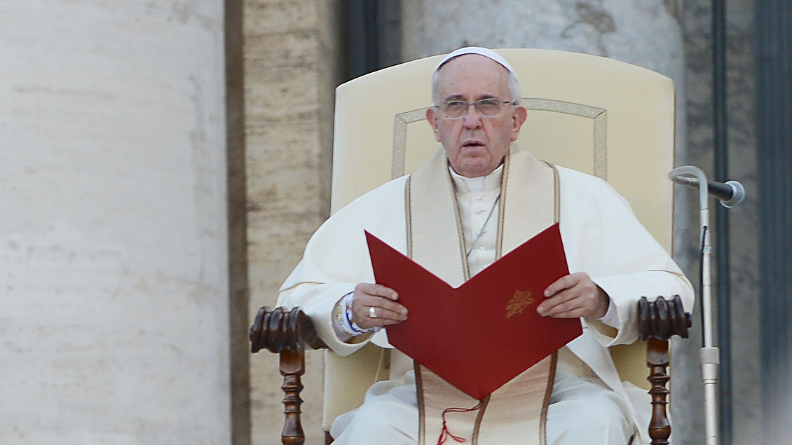 Papst Franziskus (Archivbild).