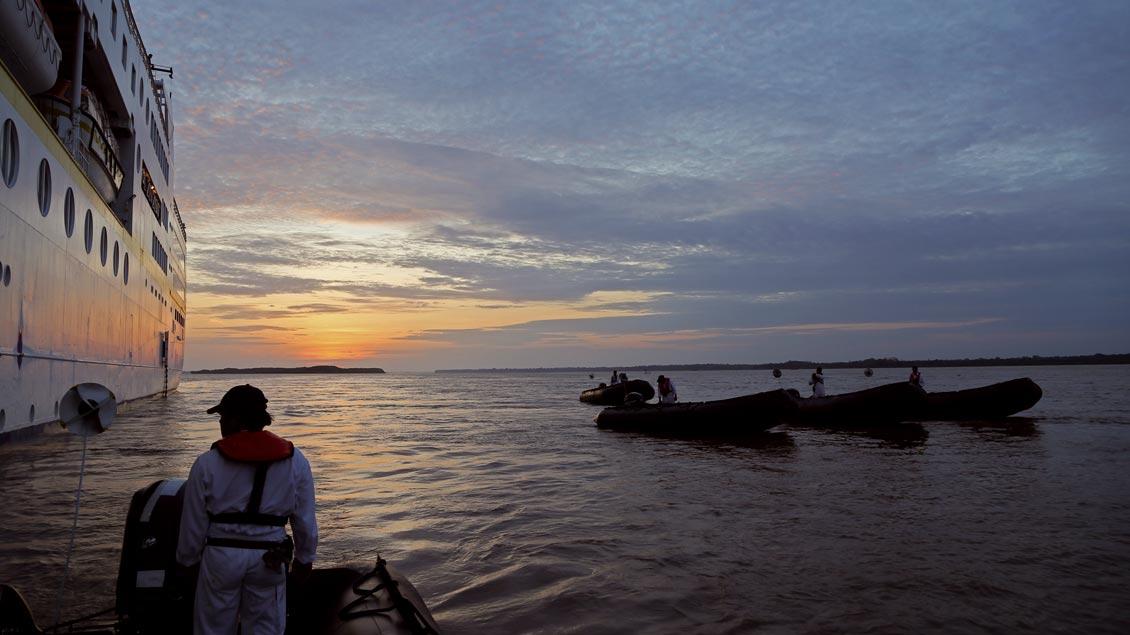 Die besondere Kreuzfahrt: Mit der MS Hamburg über den Amazonas von Iquitos in Peru bis Belém in Brasilien.