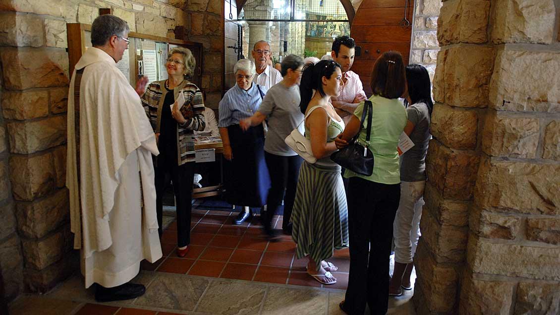 """Kirche im Haus der """"Schwestern von Nazareth"""" in Kapstadt."""