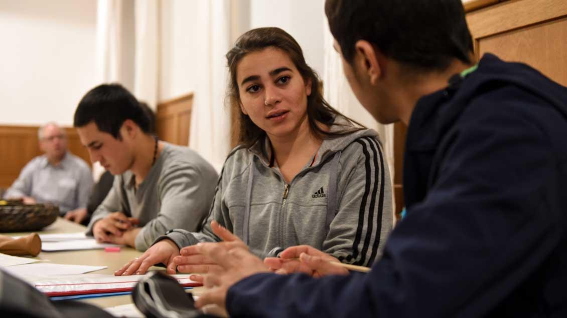Unterkunft für minderjährige Flüchtlinge.