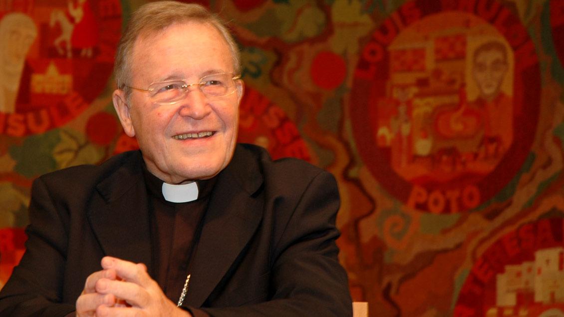 Kurienkardinal Walter Kasper leitete von 2001 bis 2010 das Sekretariat für die Einheit der Christen im Vatikan. Zuvor war er Bischof von Rottenburg-Stuttgart.