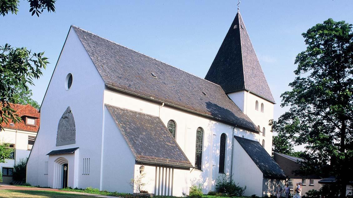 Die St.-Willehad-Kirche in Nordenham.