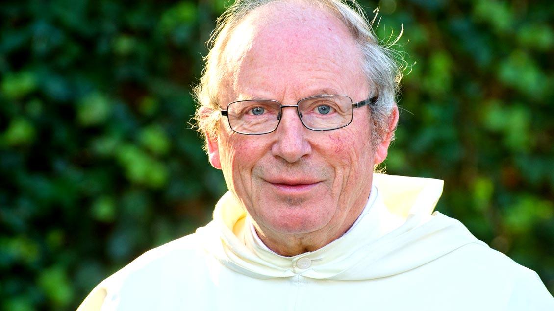Pater Sebastian Hackmann: nun im Ruhestand als Seelsorger in der Pfarrei Cappeln und als Beirat des Landes-Caritasverbandes. Foto: Bischöfliche Pressestelle Vechta