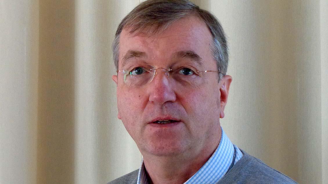 Pfarrer Clemens Fabry.