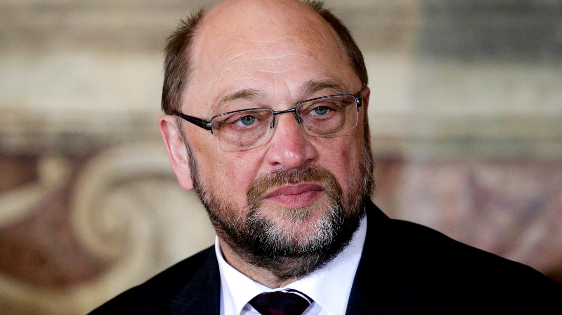 """Martin Schulz, künftiger SPD-Kanzlerkandidat und Katholik: """"Ich bin nicht sehr gläubig."""""""