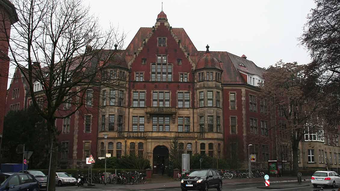 """Die Hüfferstiftung soll das zentrale Gebäude des """"Campus der Theologien"""" in Münster werden."""